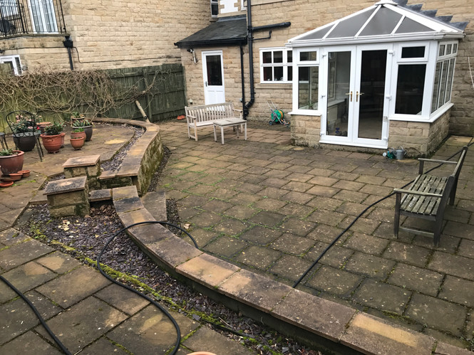 Driveway and Patio Cleaning in Ilkley Halifax, Skipton, York, Bradford and Leeds