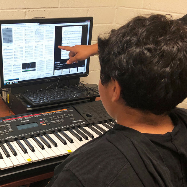 Youth student learning production