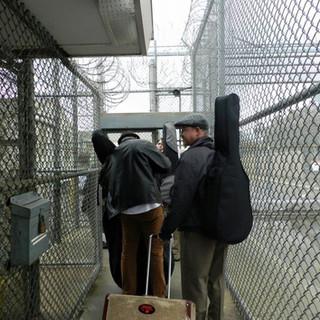 JGD entering Norco prison