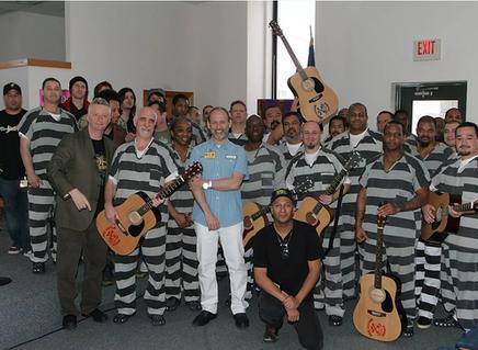 Guitar Hero Wayne Kramer Brings Music Workshops to Prisons