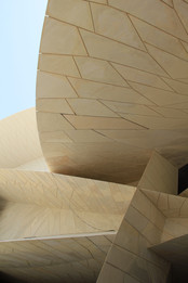 En Mission pour le Musée National du Qatar.