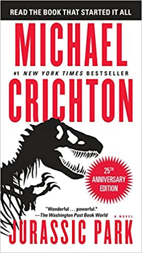 Cover of Jurassic Park by Michael Crichton