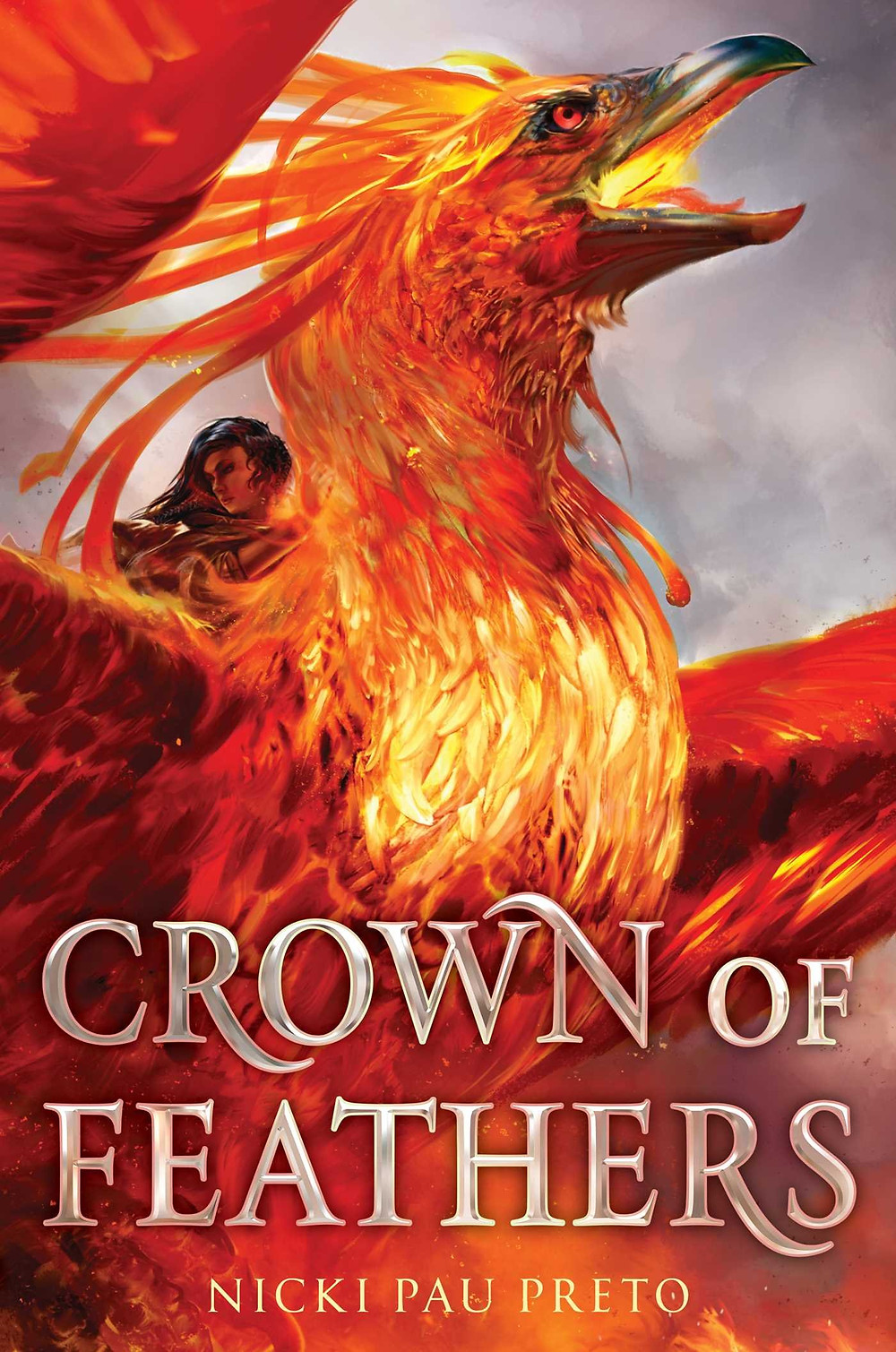 "Cover of the book ""Crown of Feathers"""