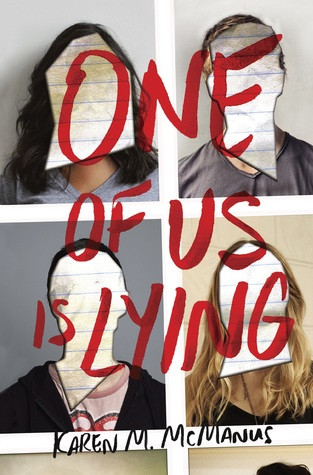 cover photo of One of Us is Lying by Karen McManus