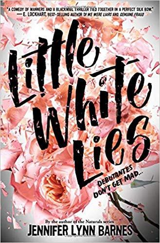 "Cover photo of ""Little White Lies"" by Jennifer Lynn Barnes"