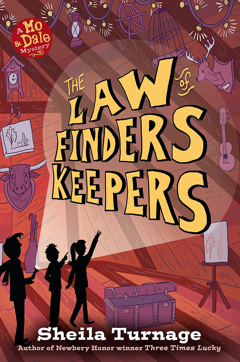 "Cover photo of ""The Law of Finders Keepers"" by Sheila Turnage"