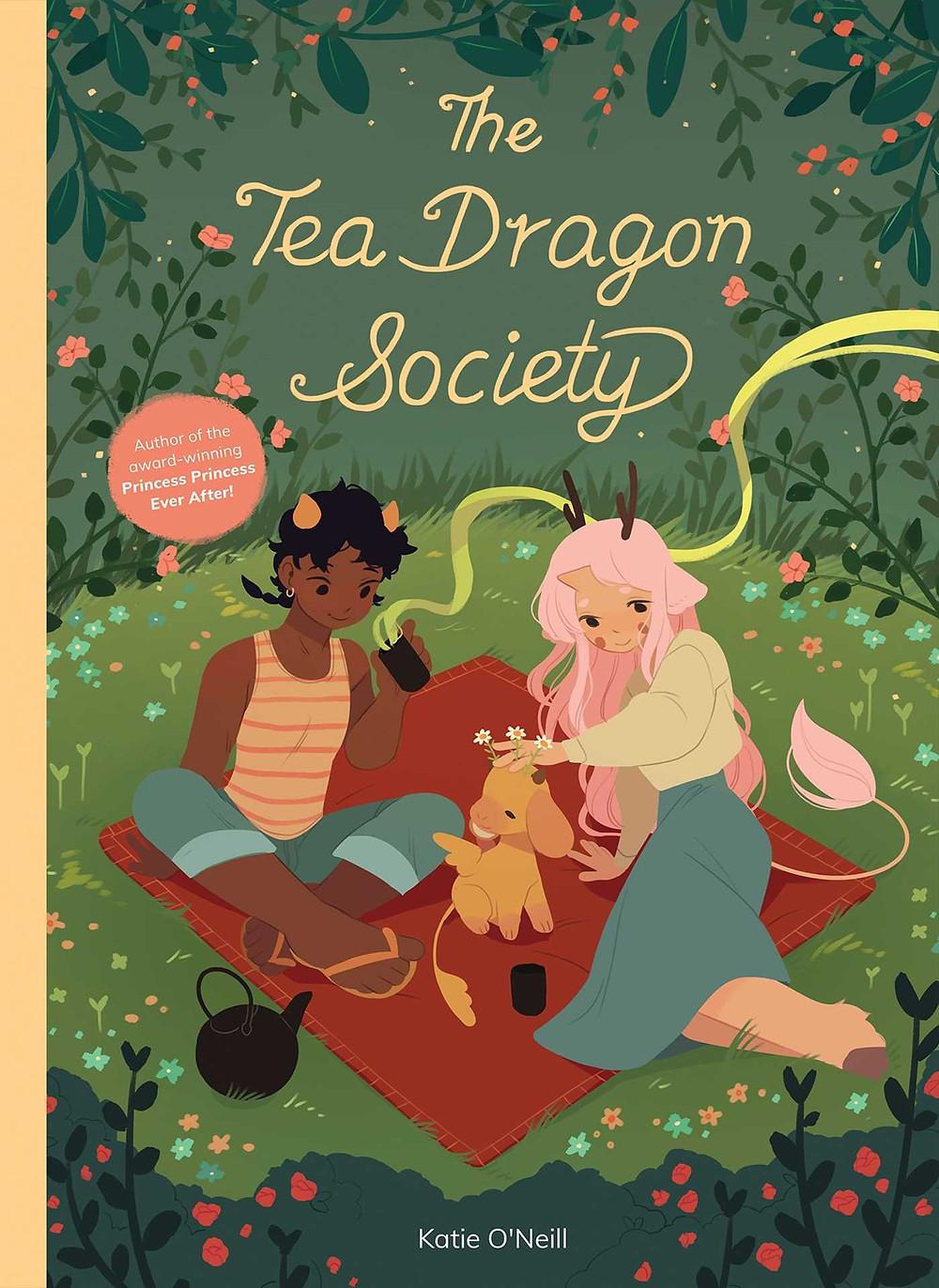 Cover of The Tea Dragon Society