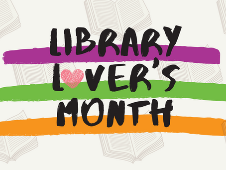 It's Library Lover's Month!