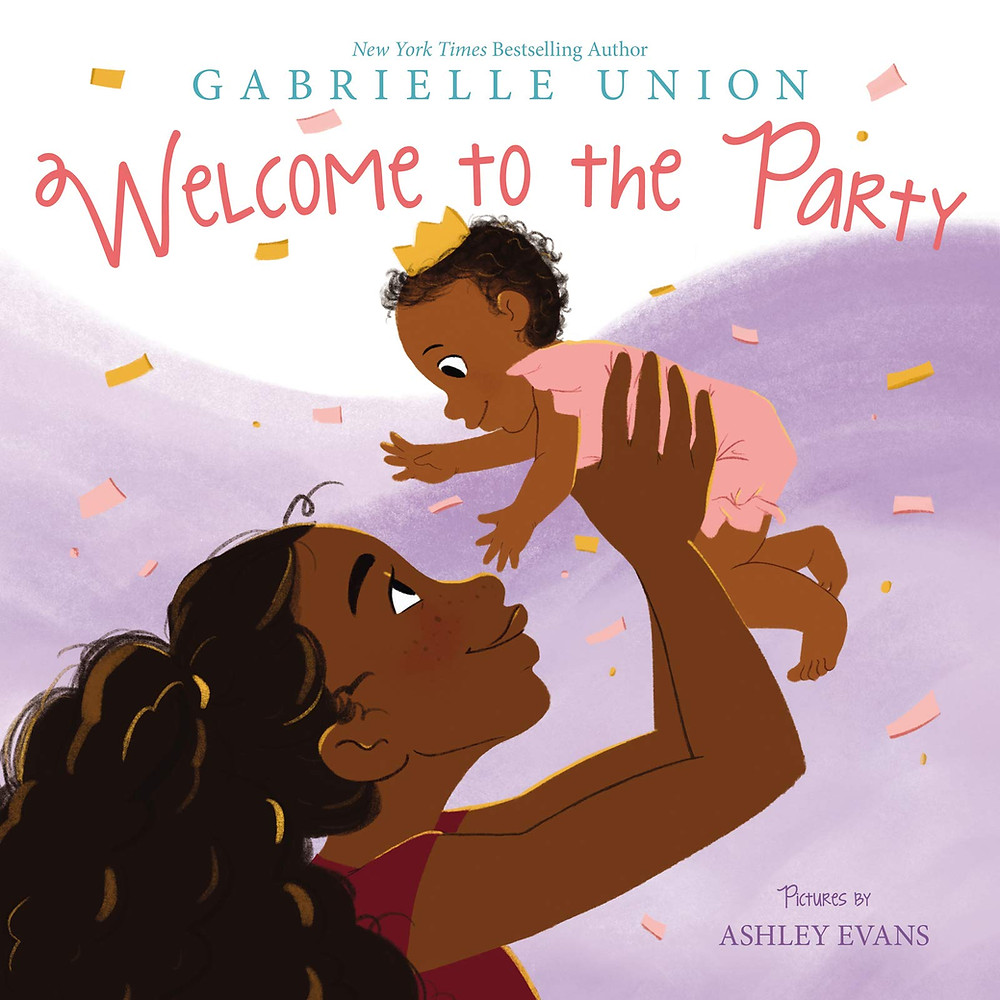 "Cover photo of ""Welcome to the Party"" African-American woman holding up her baby"