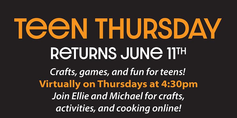Virtual Teen Thursdays