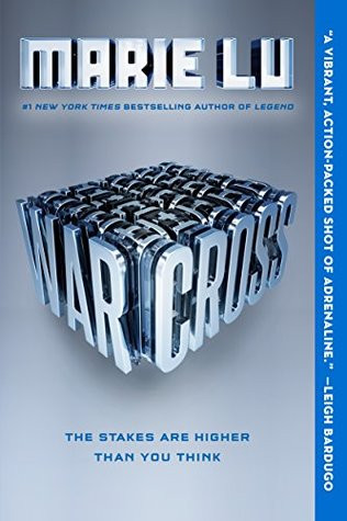 Photo of the cover of Warcross