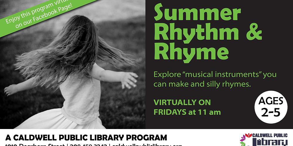 Virtual Rhythm & Rhyme