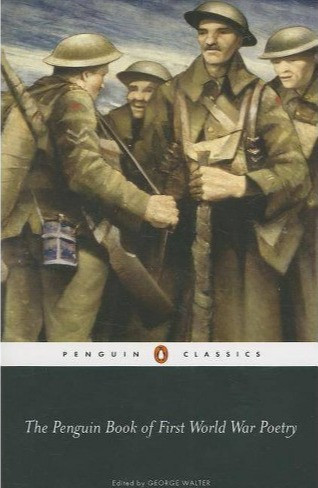Cover of The Penguin Book of First World War Poetry - four standing soldiers