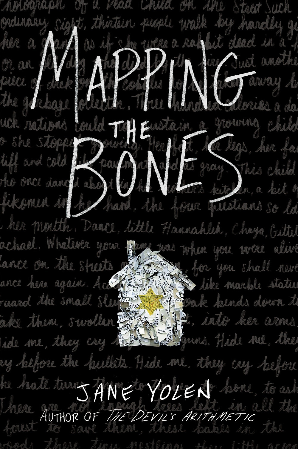 "Cover photo of ""Mapping the Bones"" by Jane Yolen"