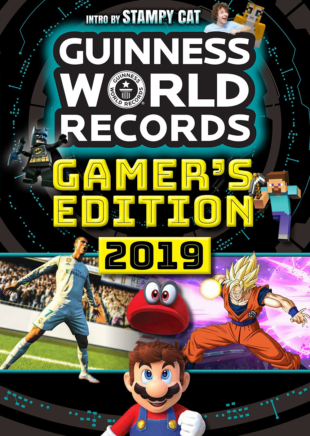 Cover of Guinness World Records Gamer's Edition 2019