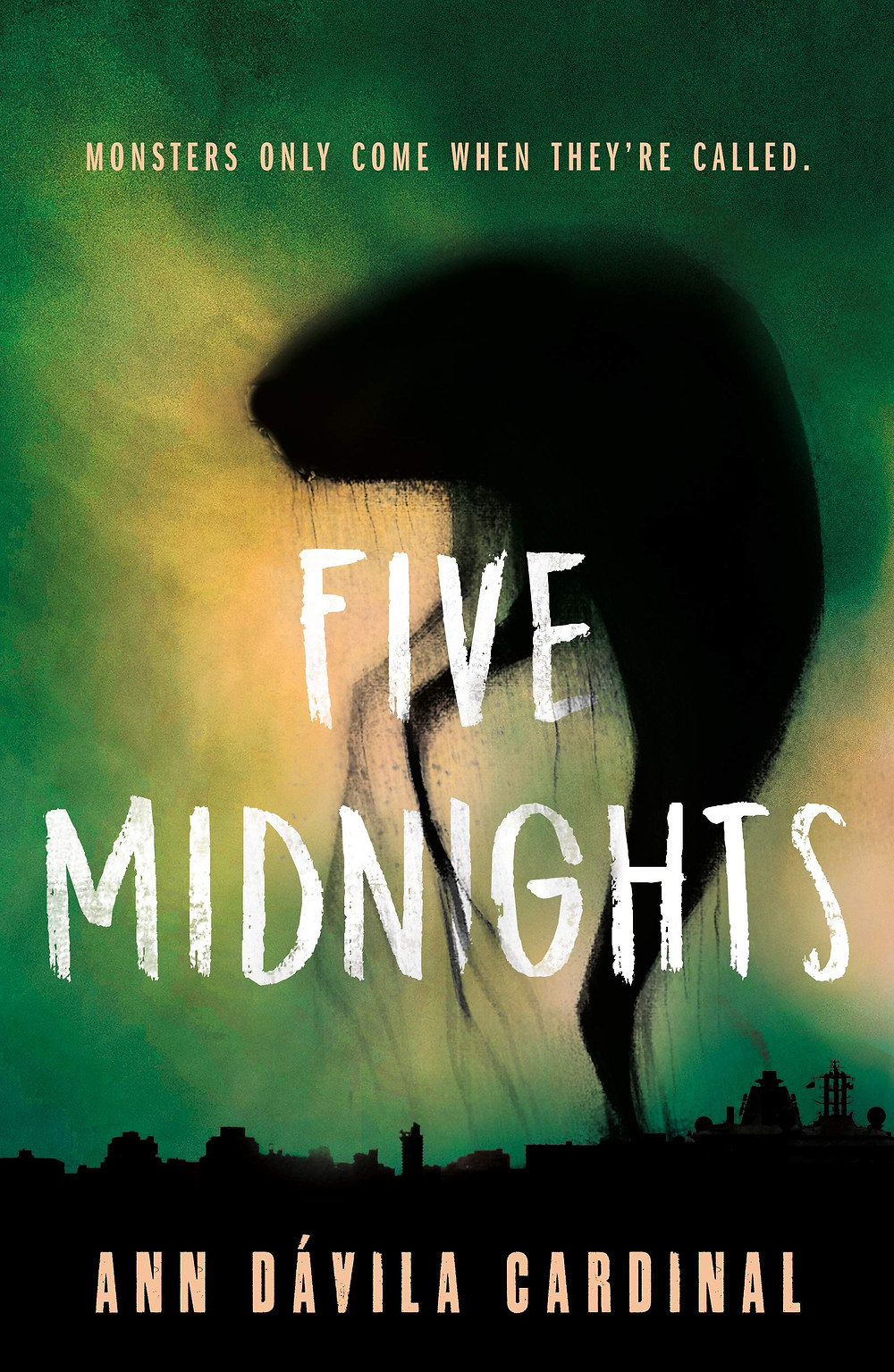 cover of five midnights by ann davila cardinal