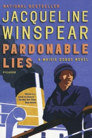 "Cover photo of ""Pardonable Lies"" by Jacqueline Winspear"