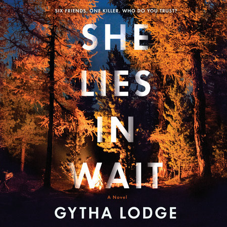 cover of she lies in wait by gytha lodge