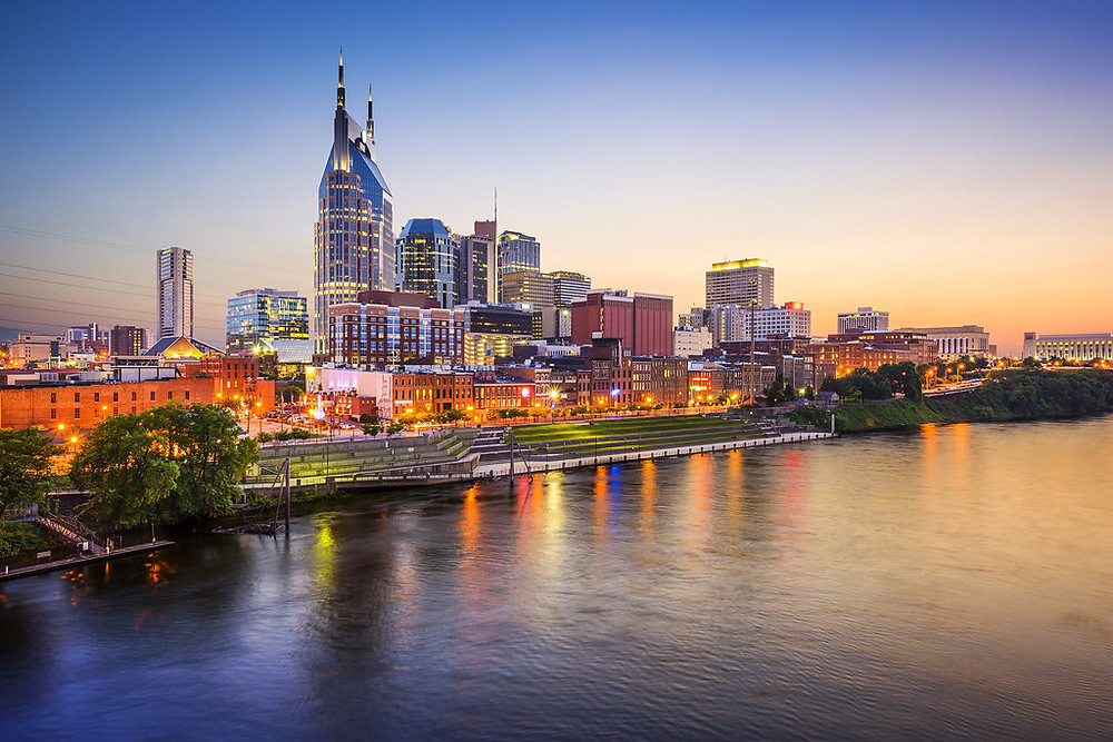 View of Nashville, Tennessee
