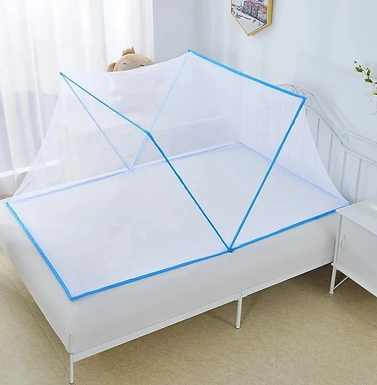 Portable Folding Mosquito Net For Single Bed For Home & Travel
