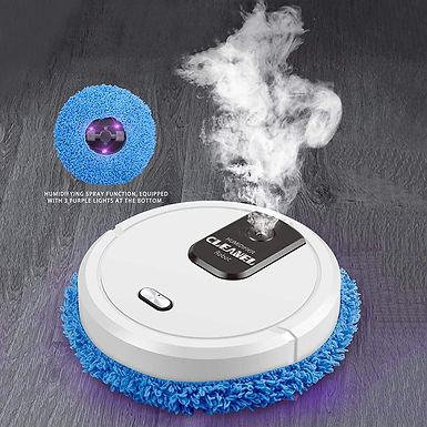 3 in 1 Automatic Smart Silent Mopper Robot Sweeping Mopper Rechargeable Cleaner