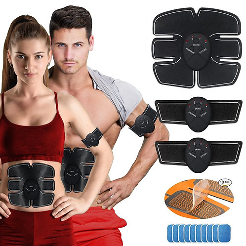 Six Pack Abs Wireless Electric Exerciser Fitness Trainer Stimulator