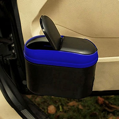 Mini Car Trash Can Dustbin Garbage Box Holder Bin For Door Side