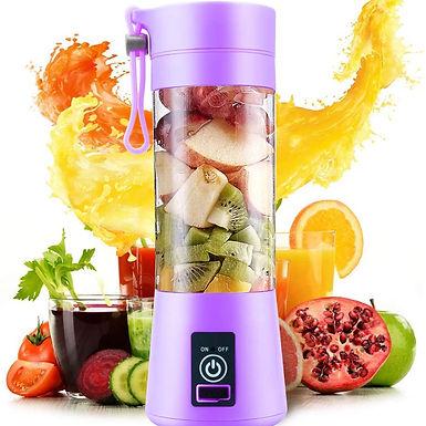 Portable Usb Electric Rechargeable Fruit Juice Mixer Grinder Juicer Blender