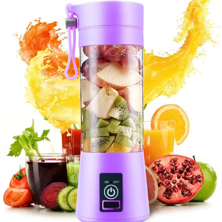 Portable Usb Electric Rechargeable Fruit Juice Mixer Grinder Juicer Blender