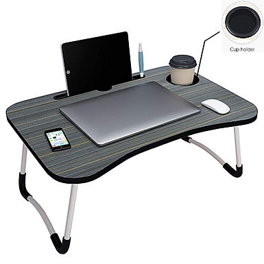 Multifunction Laptop Table Foldable Portable Adjustable for Study & Breakfast