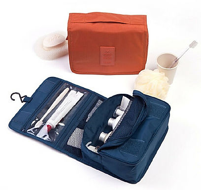 Multi Functional Travel Toiletry Cosmetics Makeup Organizer Pouch