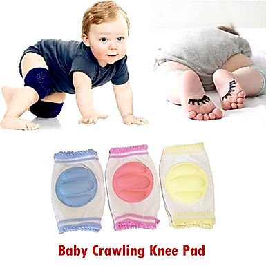 Baby Knee Pads for Crawling Adjustable Safety Protector for Babies, Toddlers, In