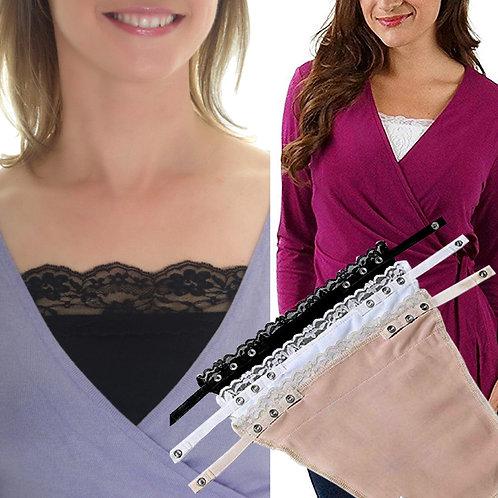 Women's Cotton Clip on Mock Lace Camisole Cami Secret