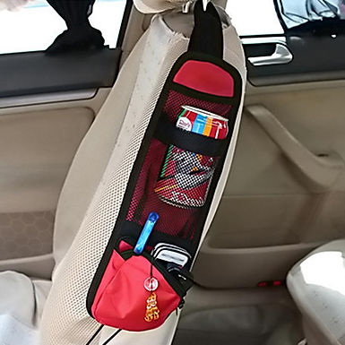 Car Seat Chair Side Accessories Pockets Pouch Storage Bag Organizer