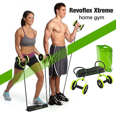 Revoflex Xtreme Home Workout Fitness Abs Machine