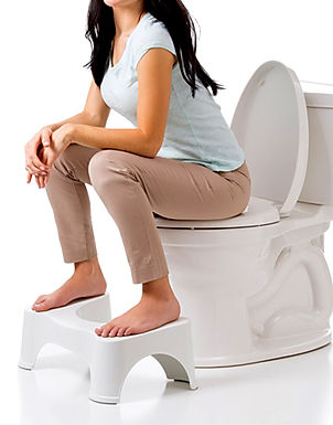 Comfortable Non-Slip Easy Potty / Squatting Toilet Bathroom Seat Foot Rest Stool