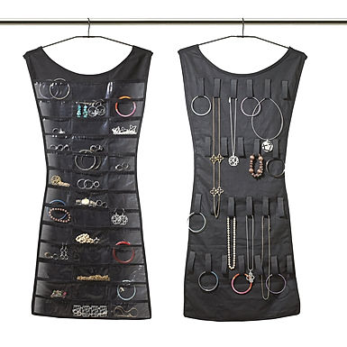 My Little Dress 24 Pockets 2 sided Hanging Jewelry & Makeup Organizer