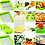 Thumbnail: Nicer Dicer 12 IN 1 with 1 Vegetable and Fruit Cutter Grater Peeler & Chopper