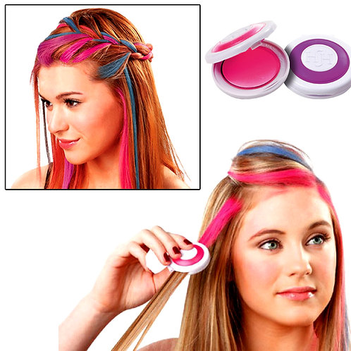Hot Huez Multi-Colour Temporary Hair Chalk of 4 Colors