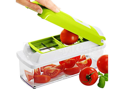 Nicer Dicer 12 IN 1 with 1 Vegetable and Fruit Cutter Grater Peeler & Chopper