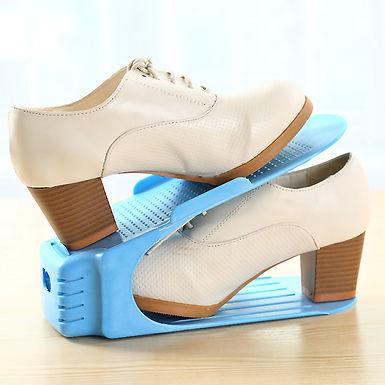 Shoe Sandals Footwear Organiser Space Saver Rack - Set of 6