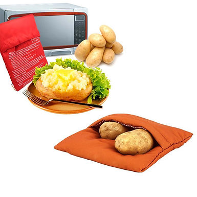 Potato Express Microwave Cooking Pouch Bag - Boiled Like Potato Without Water