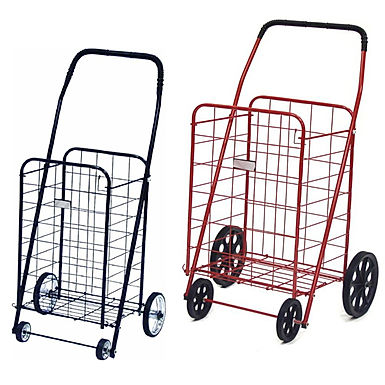 Foldable Shopping Cart Trolley With Wheels for Grocery and Outdoor Shopping
