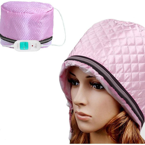 Hair Treatment Cap & Thermal Heating Spa Hair Steamer