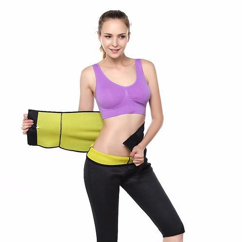 Hot Shaper Adjustable Body Shaping Belt Waist Trainer Sweat Slimming Corset