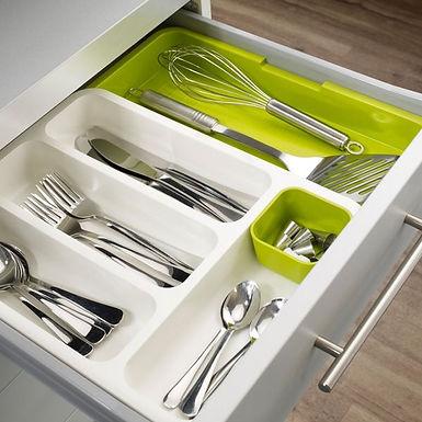 Drawer Storage Expandable Cutlery Organizer Tray