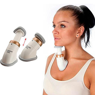 Neckline Slimmer Double Chin Remover Reducer, Face Lift Jawline Shaper Massager