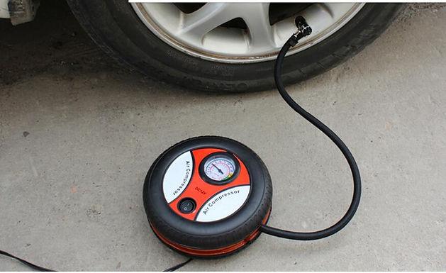 Electric Mini DC 12V Air Compressor Pump Portable Tire Inflator for Car and Bike