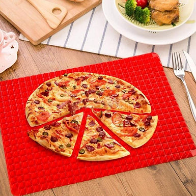 Pyramid Pan Non-Stick Silicone Mat Cooking Microwave Oven Baking Pad