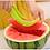 Thumbnail: Plastic Watermelon Cutter Fruit Corer Slicer - Non-Slip Safe